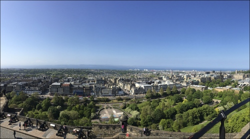 Edinburgh Pano by David Gadient, 2016