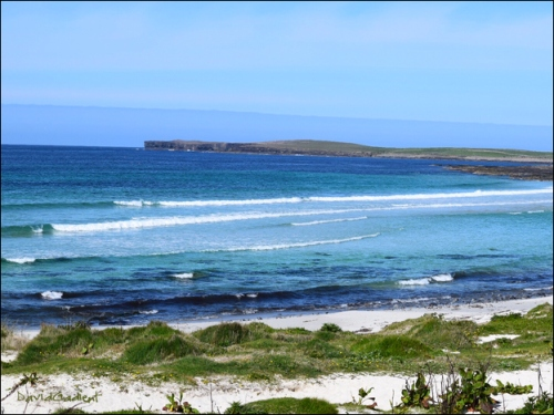 Westray Grobust Beach by David Gadient, 2016