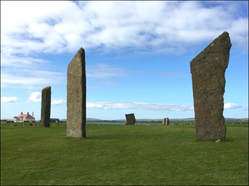 Standing Stones of Stenness by Karen Gadient, 2016