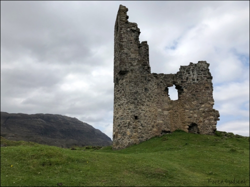 Ardvreck Castle by Karen Gadient, 2018